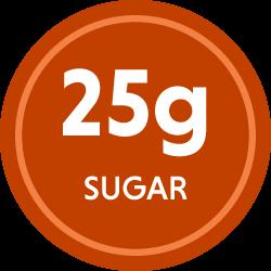 25g sugar
