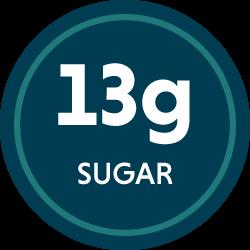 13g sugar