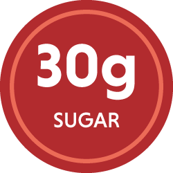 30g sugar