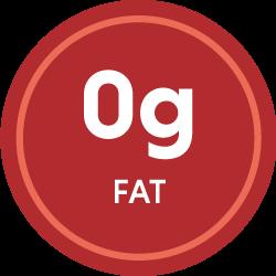 0g fat